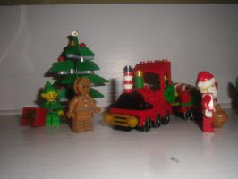 2015 LEGO Christmas Display Picture 2 by Eli-J-Brony