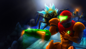 Metroid: In the beginning.... by quadren4