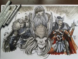 THOR! by MARCIOABREU7