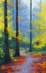 Woodland Trail by artsaus