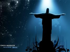 Christ Redeemer - Brazil by r-fl