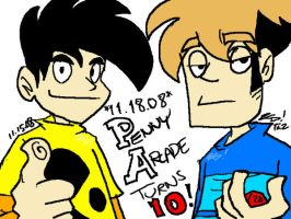 PENNY ARCADE TURNS 10 by kd99