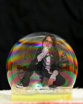 Tina Fey Bubbled by blunose2772