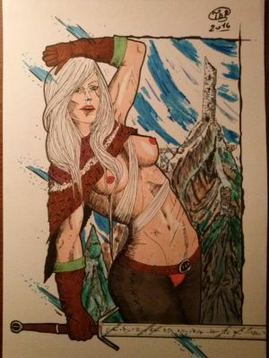 Ciri, the Blood of the Ancients. by Tryssya