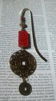 Eastern Coin Bookmark by Spritzykins