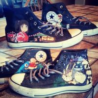 Ghibli Converse by De-Last-Survivor