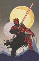 DARTH MAUL by ChrisFaccone