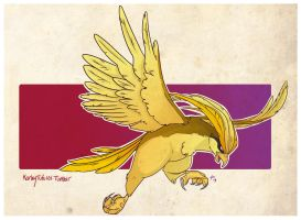 018: Shiny Pidgeot by Kauritsuo