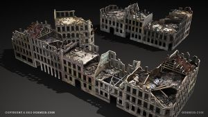 Berlin Ruins by ogami3d