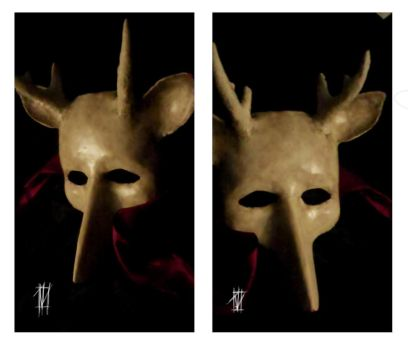 Deer mask by deadwrong777