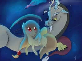 Alice and Discord by Blackmell