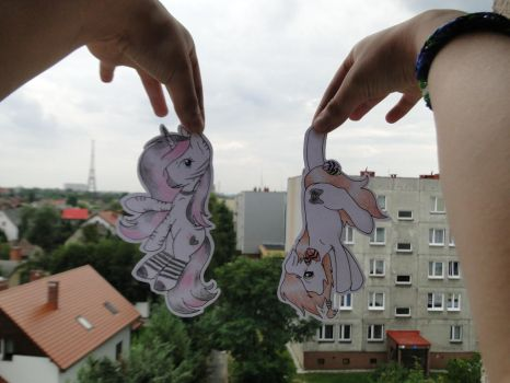 2 paperchild commishes ^^ by Fluka