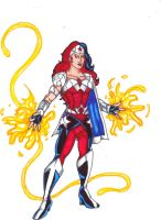 DC Revolt: Wonder Woman by FrischDVH
