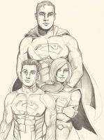 Superman Family! by seanpatrick76