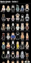 Movie Greats - Series 1 by BikerScout