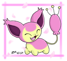 Skitty by crayon-chewer