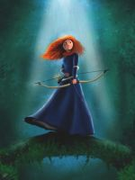 Brave Princess Merida by bat2mayur89