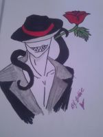 Would you like a rose? by MZCreepypasta