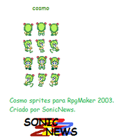 cosmo sprites para RpgMaker by sonicnews