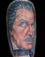 Vincent Price by twistediamgetattoos