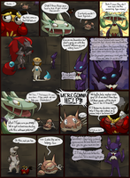 Team LoveShock: Mission 5 P.10 by CheesyCrocs
