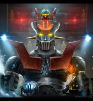 Mazinger Fan Art by TheFearMaster