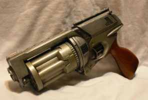 Steampunk Gun - The Constable by MarcWF