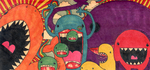 Monster Conglomeration by chibibichi