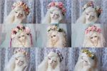 Recently made flower wreaths ^^ by AyuAna