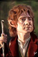Bilbo caricature by jupa1128