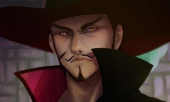 Dracule Mihawk - Screencap redraw by asmafadhel