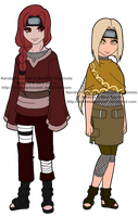 Naruto Adoptable Gatchapon - Capsules 2 and 5 by mistressmaxwell