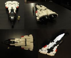 LEGO fighter 01 by Bocma
