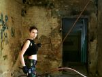 Lara Croft - Derelict hospital by TanyaCroft
