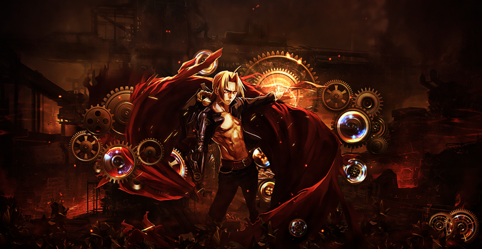 Edward Elric by BriGht-liGht-NSH