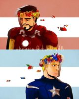 Stevetony_Crowns of leaders by krusca