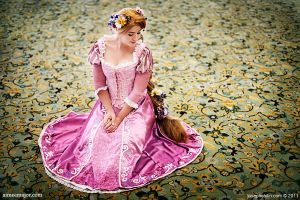 Rapunzel Cosplay by aimeekitty