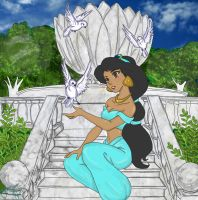 Princess Jasmine by OurLadyBinx