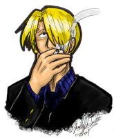 Sanji Smoke by KaleiC