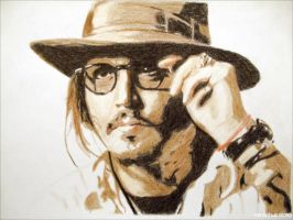 Johnny Depp - Serbia 2010 by shaman-art