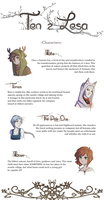 Ten z Lesa: Meet the Characters by Kiwa007