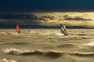 Windsurfing by vlastas