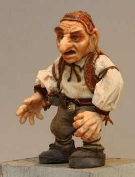 Hoggle dolly by MarylinFill