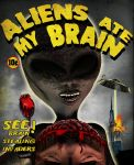 Aliens Ate My Brain by sicklilmonky