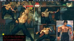 Fist of The North Star with Fei Long as Kenshiro by MaesterLee