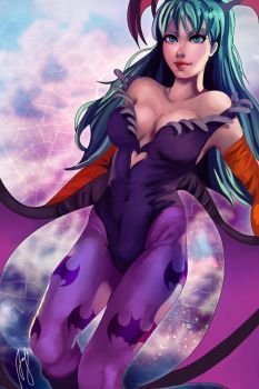 Morrigan by Andreanable