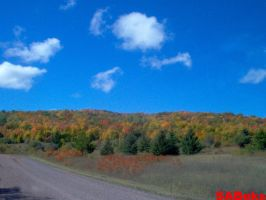 Hills of Fall Color! by SABeks