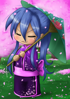 Konata chibi by stitch-84