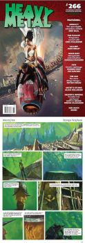 New issue of Heavy Metal magazine by SVerykios-Paintings