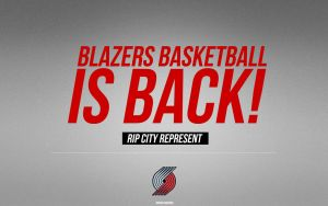 Portland Trailblazers Wallpaper by IshaanMishra